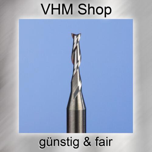10 Stück NEUE 2 Schneiden VHM Fräser Durchmesser 1,5 mm