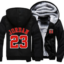 08cc05e84159 item 4 Mens Fur Fleece Hooded Michael Jordan 23 Coat Hoodie Men Jacket  Overcoat Outwear -Mens Fur Fleece Hooded Michael Jordan 23 Coat Hoodie Men  Jacket ...