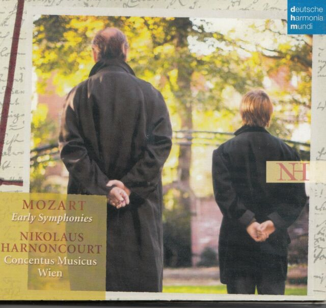 Mozart: Early Symphonies von Nikolaus Harnoncourt (2004) 2 CD