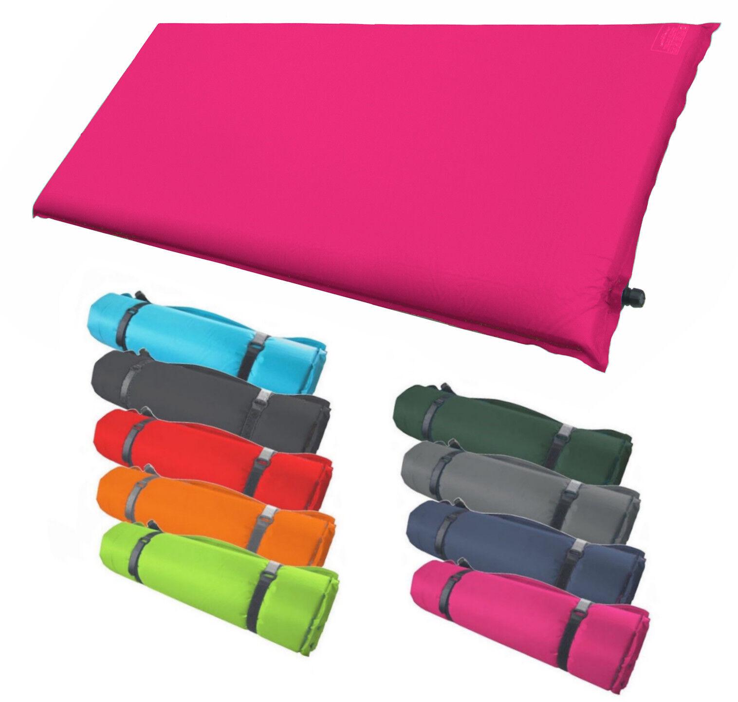 Isomatte Selbstaufblasend - 200 200 200 x 66 x 6 cm - Campingmatte Luftmatratze Farbwahl  | Ich kann es nicht ablegen  661577