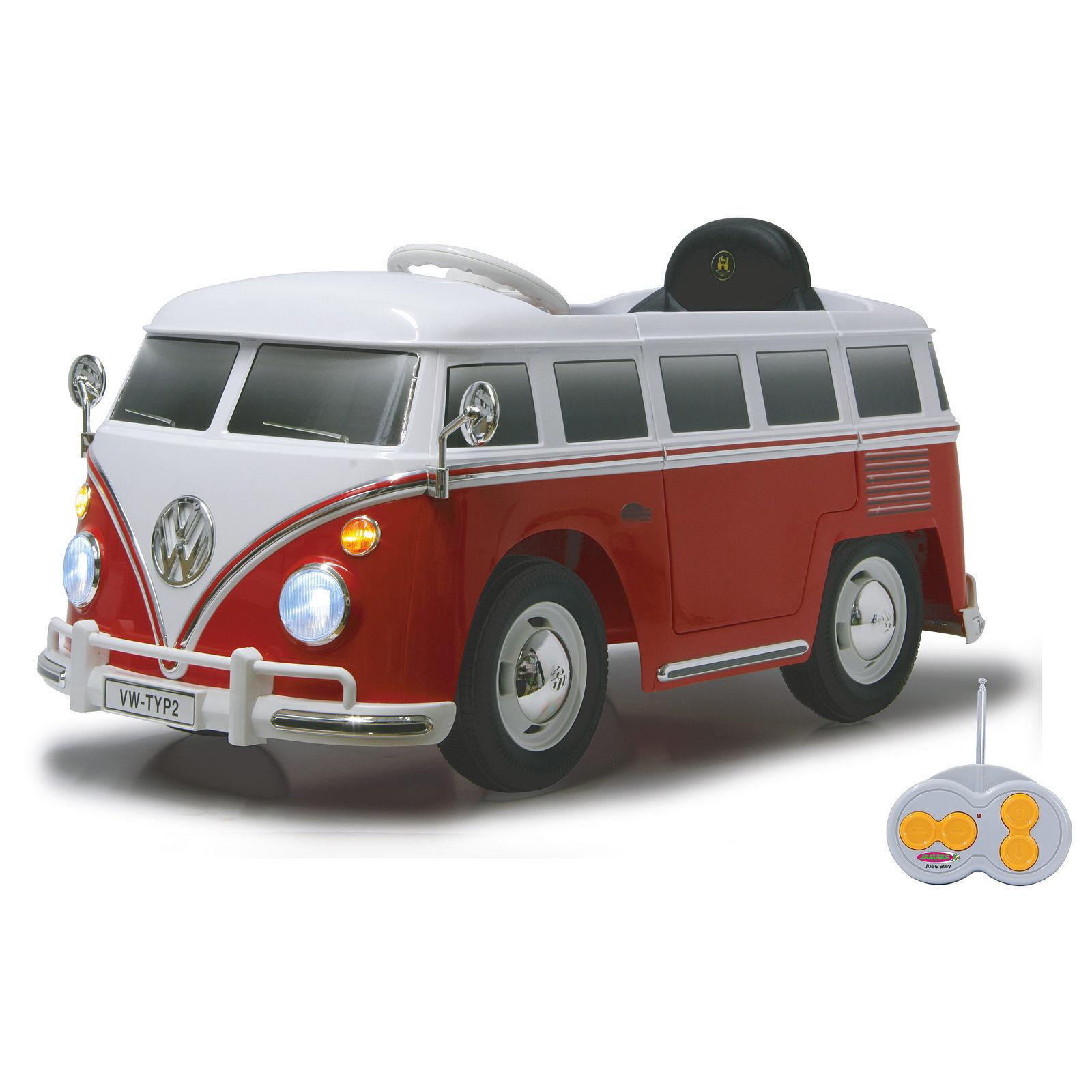 Jamara Ride-on VW Bus T1 red-white 460234