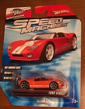 HOT WHEELS 2009 SPEED MACHINES FORD GTX1- ORANGE - BUY BY 05/29 & SAVE 20%