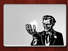 "Joker Batman Decal Sticker Skin for Apple MacBook Air/Pro Laptop 13"" 15"" 17"""
