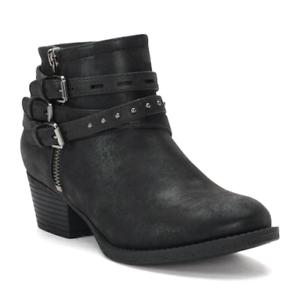 Nuevo Con Etiquetas Para Mujer Sonoma bienes para la vida gobernante Tobillo botas Zapatos Elegir Talla Negro
