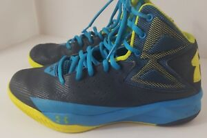 027a1572edcc0 Image is loading Men-UA-Under-Armour-Rocket-Basketball-Shoes-Midnight-