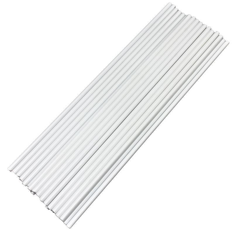Weißes Plastik Kuchen Dübel Rührer Stäbe 30.5cm Or 20.3cm Stangen Stäbe
