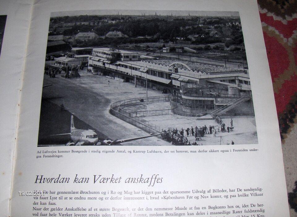 KØBENHAVN FØR OG NU - PRØVEHÆFTE - ca. 1948 / 1949, Alfred G.