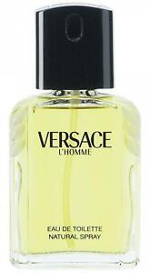 VERSACE-L-039-HOMME-L-homme-edt-Cologne-3-3-3-4-oz-NEW-tester-WITH-CAP
