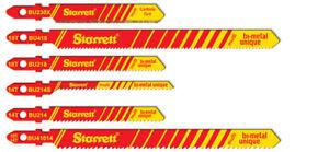 Starrett Jigsaw blades for Wood, Metal, multi-purpose & Unique Dual cut wood.