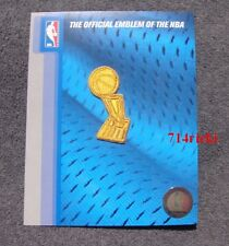 2015 NBA Finals Trophy Golden State Warriors Champions Ring Ceremony Patch