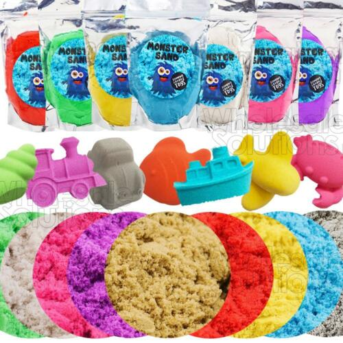 Magic Motion Moving Crazy Play Sand Colour Variety Building Formula Toy