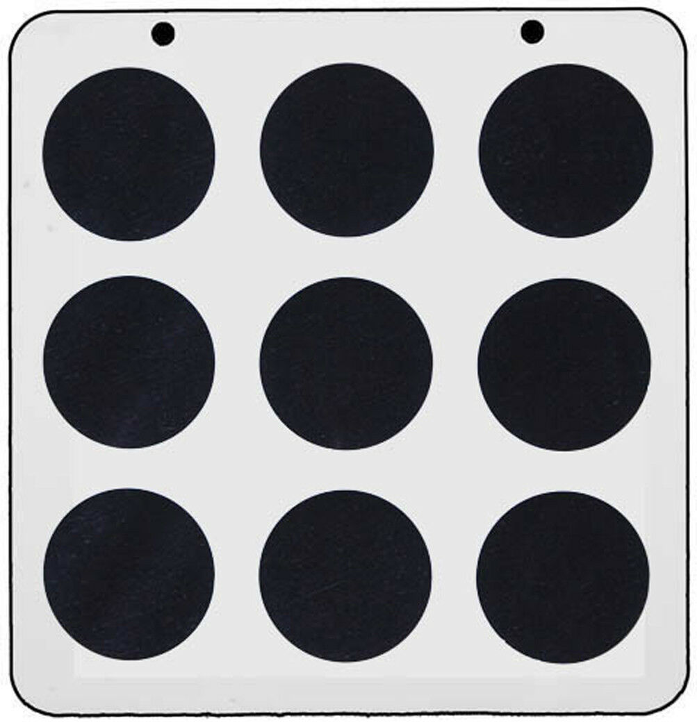 7cm Circles
