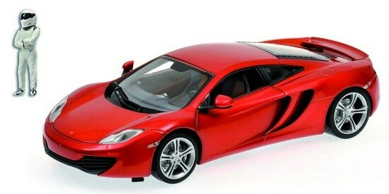 MINICHAMPS 519101330 McLaren mp4-12c  TopGear  en Orange avec personnage 1 18 Nouveau neuf dans sa boîte