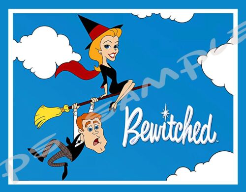 BEWITCHED Flexible Fridge Magnet free ship on more