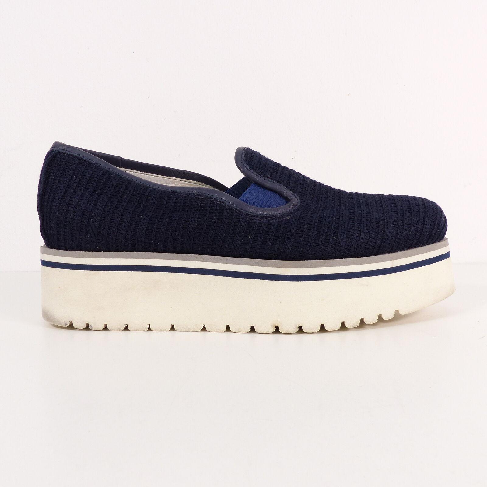 Dundup Mocassini Donna Scarpe Plateau Blu EU 39 mokasins scarpe