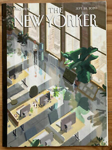 """The NEW YORKER Sept 28 2020 """"Open Offices"""" Pascal Campion new no label"""