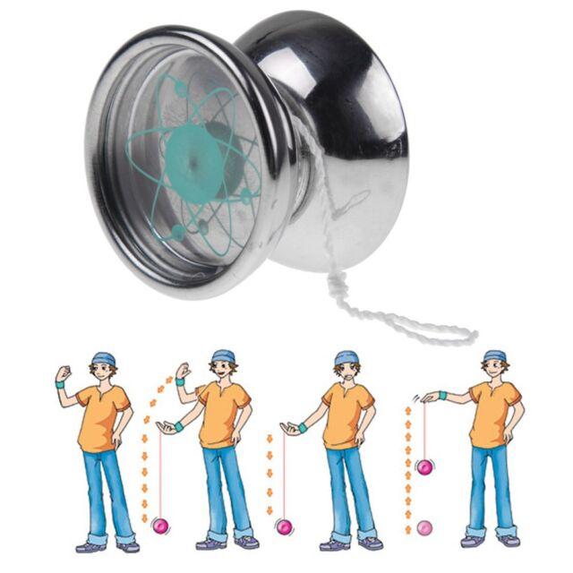 HOT New Aluminum Design Professional YoYo Ball Bearing String Trick Alloy Kids
