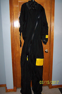 Emergency Multifabs Survival Coverall Anti Exposure Dry Immersion Suit