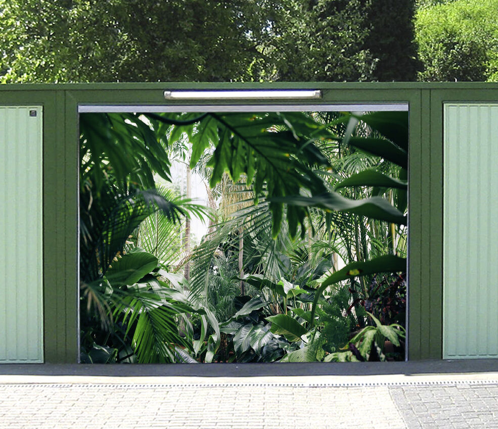 3D Lush Plants 079 Garage Door Murals Wall Print Decal Wall Deco AJ WALLPAPER IE