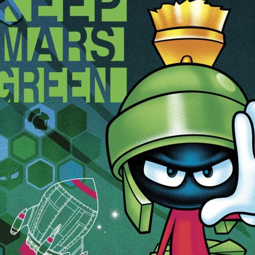 Marvin the Martian Cherokee Scrubs Tooniforms Mens V Neck Top TF708 LTMG