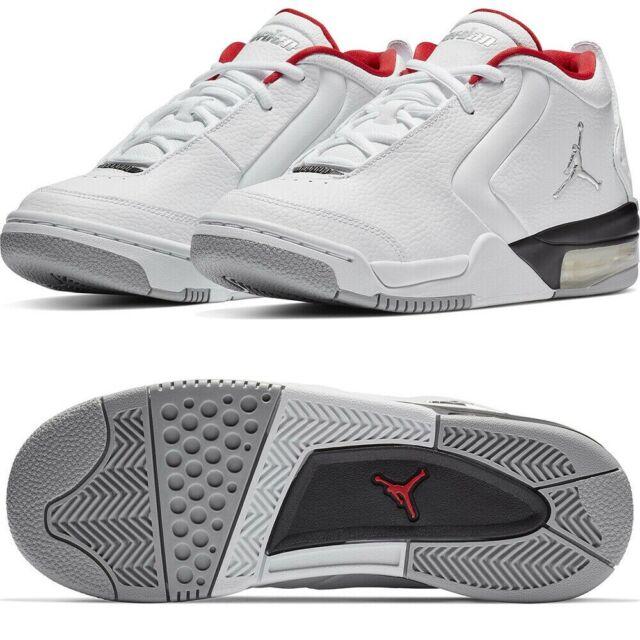 Nike Jordan Big Fund Kids Basketball Shoes 5y Red White Black
