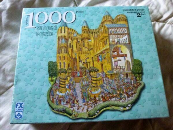 500 pièces Coin Pièce Neuf Scellé Jigsaw-Buckingham Palace 48x34cm