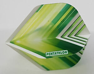 Pentathlon Vizion V Yellow Slim Dart Flights