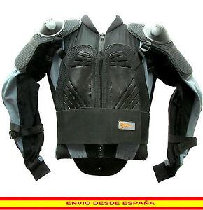 Cross Motorista Chaqueta De Moto Peto Quad Ce Espaldera Proteccion q0wZTxI
