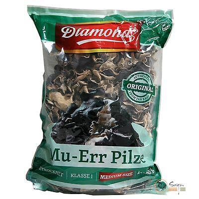 (19,99€/kg)1kg Mu Err Pilze Vietnam Morcheln Black Fungus getrocknete Pilze