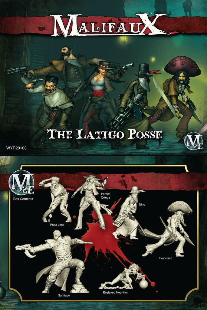 Malifaux Guild - The Latigo Posse - Perdita Ortega Box Set - WYR20103
