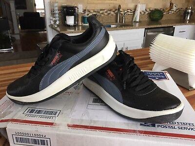 best sneakers 11ea2 a5e80 $98 Black & White Men's Puma GV Special Sneakers/ Tennis Shoes | eBay