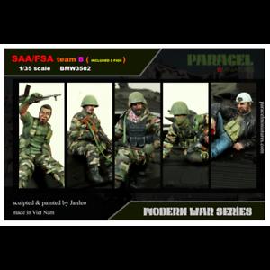 Paracel Miniatures 1 35 SAA FSA Team B (5 figures)
