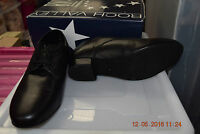 Black Leather Roch Valley Zeus Ballroom/latin Dance Shoes - Size Uk 6