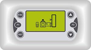 Sonstige Wasserführende Kaminöfen Temperaturregler Differenzregler Tds 503 Holzkessel Heimwerker