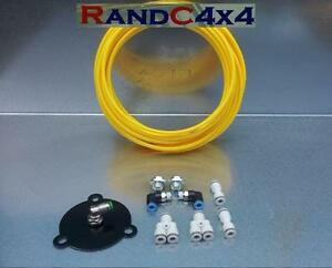Land-Rover-Defender-Wading-Kit-Yellow-200-300-TDi-Engine-Gearbox-039-s-Axles