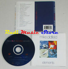 CD The best of MIKE OLDFIELD Elements1993 italy VIRGIN VTCD18 lp mc dvd vhs