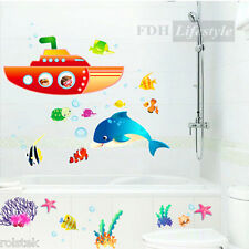 """Clearance--Wall Sticker """"Finding Nemo"""" Removable PVC Decal Home Bedroom Children"""