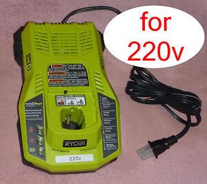 s l300 ryobi one p117 18v dual chemistry charger 220v 240v intelliport ebay