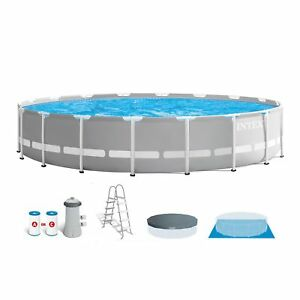 Intex-18-Foot-x-48-Inch-Prism-Frame-Above-Ground-Swimming-Pool-Set-with-Pump
