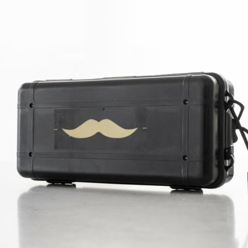 Handsome Man Torch Flashlight with Mustache Design Battery Super Bright LED
