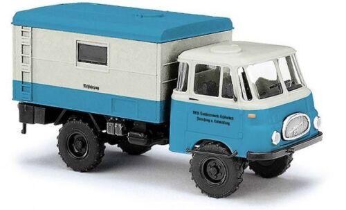 Busch 51605-1//87 Messfahrzeug des VEB Traktorenwerk H0 Robur LO 1800 A