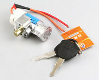Key Ignition Switch Lock Scooter Safe Moped Razor Motorcycle Quad Atv Chopper