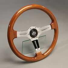 Retro Holzlenkrad Sportlenkrad Holz 360mm Nabe Ford Escort mk2 RS 2000 Turnier