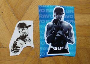 50 Cent * Sticker und Abzieh Tattoo * Bravo Extra * Aufkleber - Deutschland - 50 Cent * Sticker und Abzieh Tattoo * Bravo Extra * Aufkleber - Deutschland