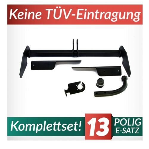 Anhängerkupplung starr+E-Satz 13p Für Opel Vectra C Caravan 03-08 Kpl