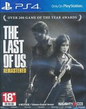 The Last of Us Remastered PS4 Game (English/Chinese) BRAND NEW