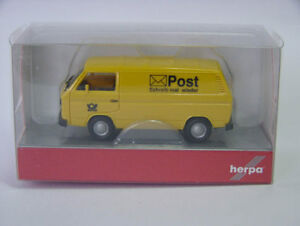 Herpa-091527-VW-t3-recuadro-deutsche-post-1-87-nuevo