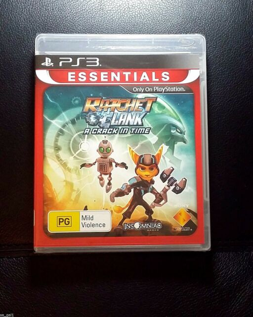 Ratchet And Clank A Crack In Time *NEW / SEALED (Sony PlayStation 3, 2010) PS3