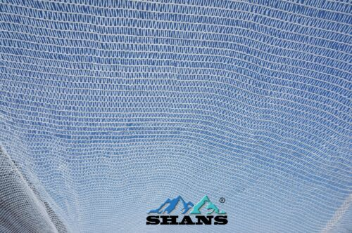 also includes free clips. SHANS 40/% blocking rate solar white shade cloth