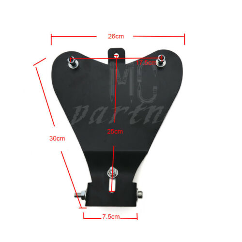Motorcycle Black Solo Driver Seat Base Spring Bracket Kit For Harley Sportster